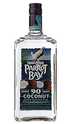 Captain Morgan Parrot Bay Rum Coconut 90@